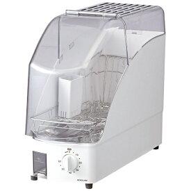 コイズミ KOIZUMI 食器乾燥機 ホワイト KDE-0500/W[コンパクト KDE0500W]