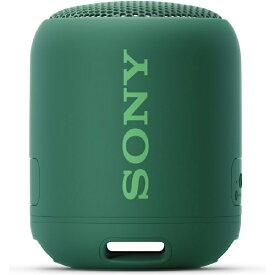 ソニー SONY ワイヤレスポータブルスピーカー SRS-XB12 [Bluetooth対応 /防水]