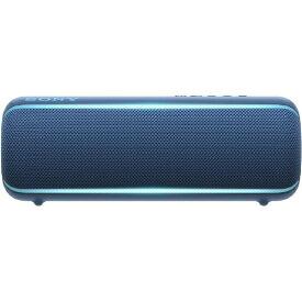 ソニー SONY ワイヤレスポータブルスピーカー SRS-XB22 [Bluetooth対応 /防水][スピーカー bluetooth 高音質 SRSXB22LC]