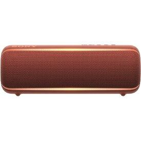 ソニー SONY ワイヤレスポータブルスピーカー SRS-XB22 [Bluetooth対応 /防水][SRSXB22RC]