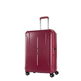 アメリカンツーリスター American Tourister スーツケース 73L(84.5L) TECHNUM(テクナム)Spinner68(スピナー68) RED SPIRAL PRINT 37G-30015 [TSAロック搭載]