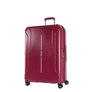 アメリカンツーリスター American Tourister スーツケース 108L(127.5L) TECHNUM(テクナム) RED SPIRAL PRINT 37G-30016 [TSAロック搭載]