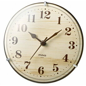 ノア精密 NOA 掛け置き兼用時計 【MAG(マグ)】 ベージュ W-731NZ [電波自動受信機能有]
