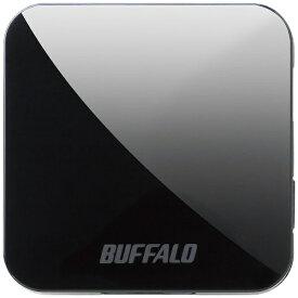 BUFFALO バッファロー WMR-433W2-BK 無線LAN親機 wifiルーター 433+150Mbps ブラック[無線LANルーター WMR433W2BK]