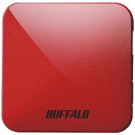 BUFFALO バッファロー WMR-433W2-PR 無線LAN親機 wifiルーター 433+150Mbps パッションレッド[WMR433W2PR]