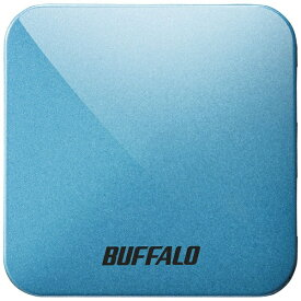 BUFFALO バッファロー 無線LAN親機 wifiルーター 433+150Mbps AirStation ターコイズブルー WMR-433W2-TB [ac/n/a/g/b][WMR433W2TB]