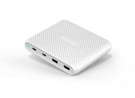 KOMATECH コマテック 90W USB PD/QC3.0対応 マルチポート チャージャー EA1707WH ホワイト[EA1707WH]