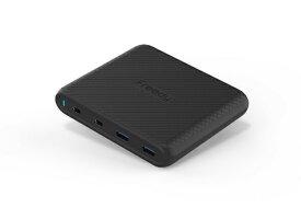 KOMATECH コマテック 90W USB PD/QC3.0対応 マルチポート チャージャー EA1707BK ブラック[EA1707BK]