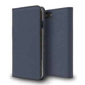 CASEPLAY ケースプレイ Leather Folio Case for iPhone 8 Navy CP-AP-PHE8-7304 Navy