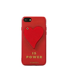 IPHORIA アイフォリア Red Heart is Power for iPhone SE(第2世代)/7/8 対応 レッドハートイズパワー 16245