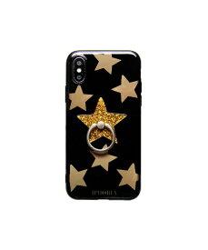 IPHORIA アイフォリア Happy Black Stars for iPhone X/XS ハッピーブラックスターズ 16211