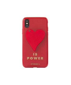 IPHORIA アイフォリア Red Heart is Power for iPhone X/XS レッドハートイズパワー 16241