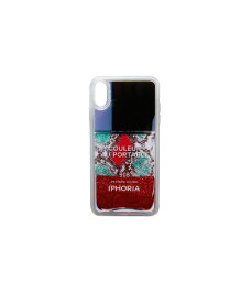 IPHORIA アイフォリア Red Snake Classic Nail Polish for iPhone XS Max レッドスネーククラシックネイルポリッシュ 16265