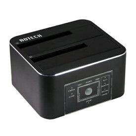 アオテック AOTECH AOTECH HDD/SSDクローン&イレーススタンド AOK-ERASECLONE-U3 ブラック