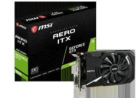 MSI エムエスアイ GeForce GTX 1650 AERO ITX 4G OC GeForceGTX1650AEROITX4GOC[GEFORCEGTX1650AEROIT]