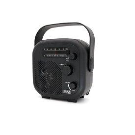 ヤザワ YAZAWA シャワーラジオ ブラック SHR02BK[SHR02BK]