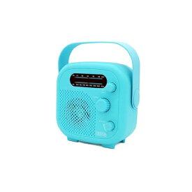 ヤザワ YAZAWA シャワーラジオ ブルー SHR02BL [防水ラジオ /AM/FM][SHR02BL]