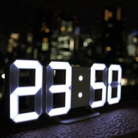 日本ポステック JPT 3DデザインのLEDデジタル時計 Tri Clock