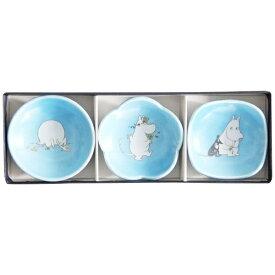 ワールドクリエイト WORLD CREATE ムーミン 豆皿3枚セット ムーミン ブルー[14741]