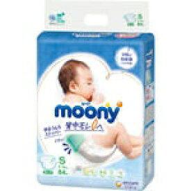 ユニチャーム unicharm moony(ムーニー)エアフィット【テープ】S(4kg〜8kg) 84枚