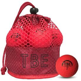 リーダーメディアテクノ Leader Media Techno ゴルフボール TOBIEMON 蛍光マットレッド T-2MR [12球(1ダース) /ディスタンス系]