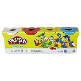 ハズブロジャパン Hasbro B6508 プレイドー きほんの4色