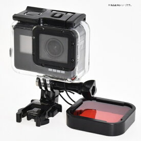 GLIDER グライダー GLIDER GoPro水中用フィルター 赤 (純正ダイブハウジング対応) [GLD3556MJ79 ]
