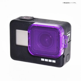 GLIDER GLIDER GoPro HERO7black/6/5用レンズフィルター 紫[GLD3570MJ80]