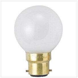 旭光電機 ASAHI LAMP G50/B22D/100/110V-60W-F 電球 ミニボールランプ [B22d /ボール電球形][G50B22D110V60W]