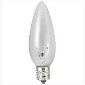 旭光電機 ASAHI LAMP C32-E12-110V-10W-C 電球 クリア [E12 /シャンデリア電球形][C32E12110V10WC]