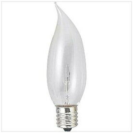 旭光電機 ASAHI LAMP C32-E17-100/110V-25W-C-MAGARI 電球 曲がりシャンデリアランプ [E17 /シャンデリア電球形][C32E17100110V25WCマガ]
