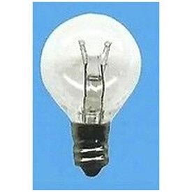 旭光電機 ASAHI LAMP G30/E12/110V-5W-C 電球 ミニボール電球 [E12 /ボール電球形][G30E12110V5WC]