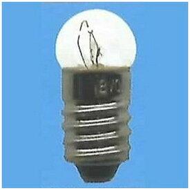 旭光電機 ASAHI LAMP G11-E10-4.8V-0.5A 電球 パイロットランプ スポット球 クリヤー [E10 /豆電球形][G11E104.8V0.5A]