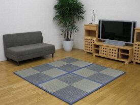 イケヒコ IKEHIKO ユニット畳 ニールBL U畳 12枚セット(日本製/82×82×1.7cm/連結ジョイント付き)