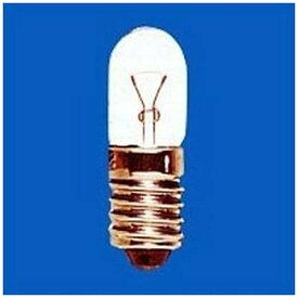 旭光電機 ASAHI LAMP T10-E10-24V-0.11A 電球 パイロットランプ クリヤー [E10 /豆電球形][T10E1024V0.11A]