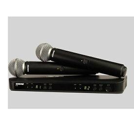 SHURE シュアー デュアルチャンネルハンドヘルド型ワイヤレスシステム(2本) BLX288 / BETA58 BLX288J/B58-JB