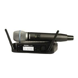 SHURE シュアー GLX-Dハンドヘルド・ワイヤレスシステム(BETA87ハンドヘルドマイク) GLXD24J/BETA87A