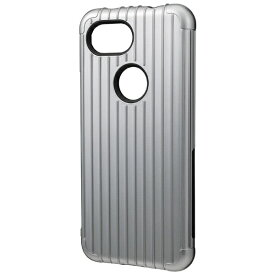 坂本ラヂヲ Rib Hybrid Shell Case for Pixel 3a CHC-54518GRY グレー