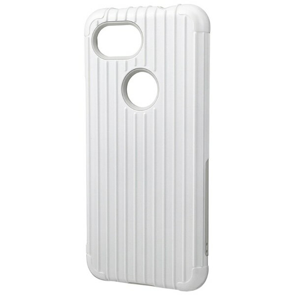 坂本ラヂヲ Rib Hybrid Shell Case for Pixel 3a CHC-54518WHT ホワイト