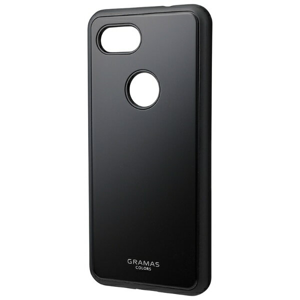 坂本ラヂヲ Glassty Glass Hybrid Shell Case for Pixel 3a CHC-54538BLK ブラック