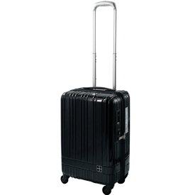 東急ハンズ TOKYU HANDS スーツケース ジップタイプ 36L hands+(ハンズプラス)ライト ミッドナイトブルー 18H+TT001-MBL [TSAロック搭載]