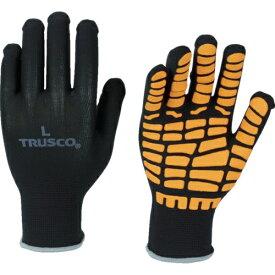トラスコ中山 TRUSCO すべり止め天然ゴムライナー手袋 オレンジ S THG134OR-S