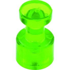 トラスコ中山 TRUSCO カラーマグネットピン 緑 10個入り TMPC10-GN