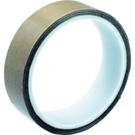 トラスコ中山 TRUSCO フッ素樹脂ガラス粘着テープ 厚み0.13mm 幅10mm×10m TF013-10X10