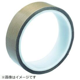 トラスコ中山 TRUSCO フッ素樹脂ガラス粘着テープ 厚み0.13mm 幅25mm×10m TF013-25X10