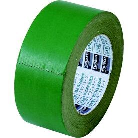 トラスコ中山 TRUSCO カラークラフトテープ 幅50mmX長さ50m グリーン TKT-50-GN