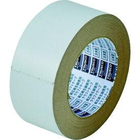 トラスコ中山 TRUSCO カラークラフトテープ 幅50mmX長さ50m ホワイト TKT-50-W