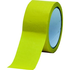 トラスコ中山 TRUSCO 耐熱マスキングテープ クレープ紙 高耐水性 24mm×50m TM-WP-24