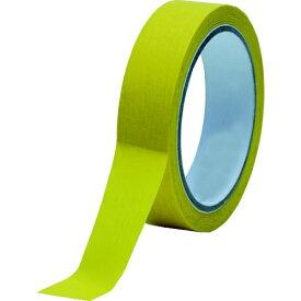 トラスコ中山 TRUSCO 耐熱マスキングテープ クレープ紙 高耐水性 6mm×50m 2個入り TM-WP-6