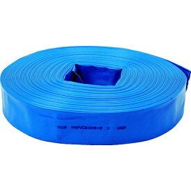トラスコ中山 TRUSCO PVC送排水用ホース 50mm×10m TPVCH-50-10